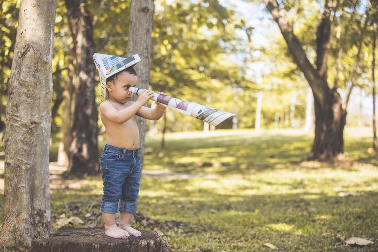 Babyboy Boyhood Children Exploring Children Photography Fishing Lake Park