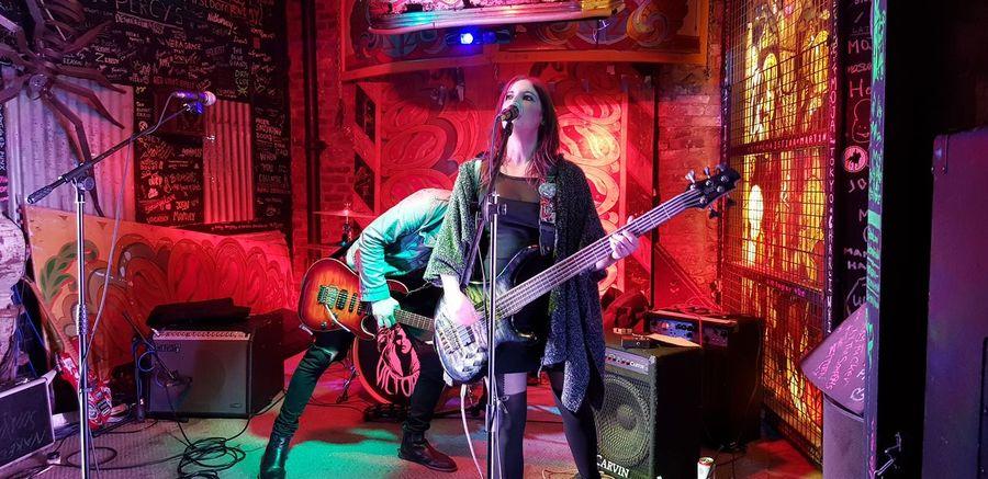 sound check. #music #Rock'nRoll #gigs #nightclub A New Beginning