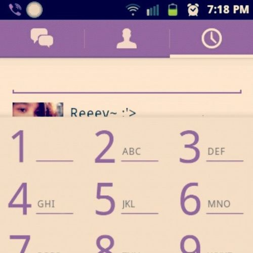 September 6 2013 is the last time I used my viber . LaosNa XD