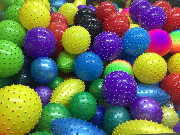 Full frame shot of colorful easter eggs