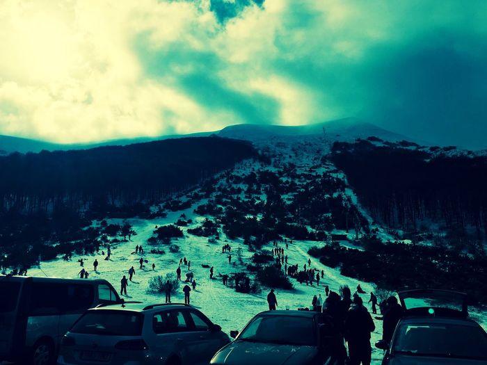 Winter Mountain Pinedadelasierra