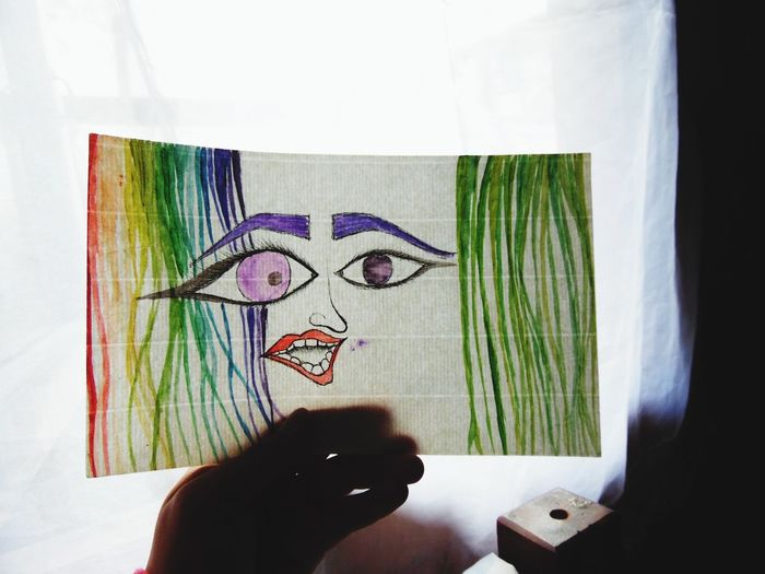 Art Photography Colors Selfportrait
