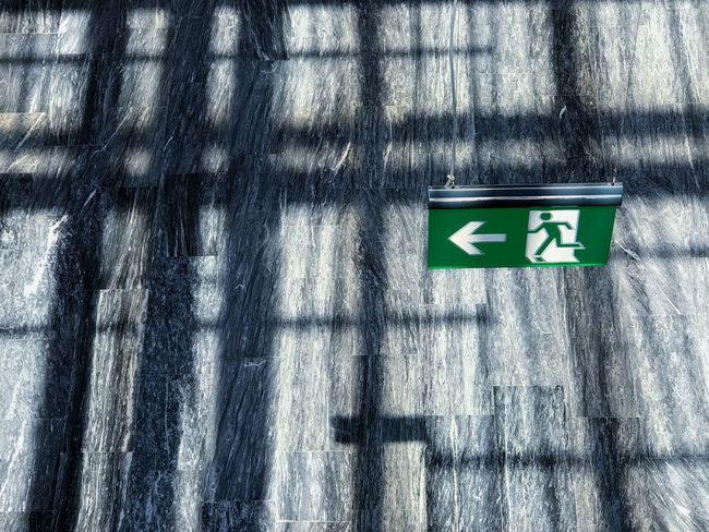 Looking Down Communication No People Day Guidance Sign Sunlight Shadow Arrow Symbol Directional Sign