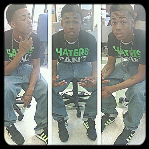 In School .