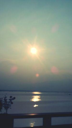 Sunset กว๊านพะเยาแหล่งชีวิต Goodview