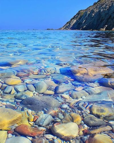Clear waters of Cyprus 💙💙💙😱😱 Water Beauty In Nature Hello World ❤ You Follow My Eye Em 💙 I Follow Back Very Nice 😱😱 Travel Relax Real Photography Real Picture