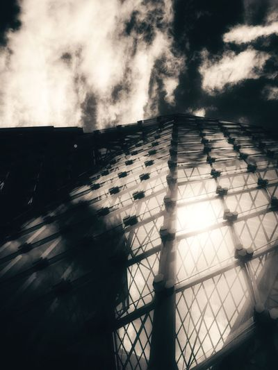 Elégance Architecture Summer Views Skyporn Clouds Metal Fine Art Structure Reflections Shadow Beauty The Week Of Eyeem Sky Urban Urban Exploration Artistic Taking Photos London