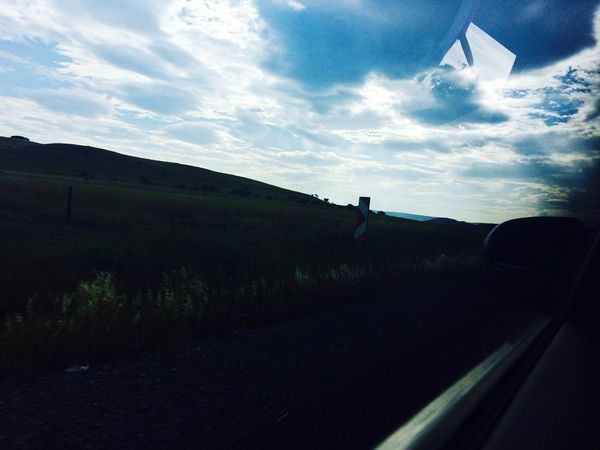 Road trip 💫 Landscape Iphone5s Cloads Hills Mountains Roadtrip Finding New Frontiers