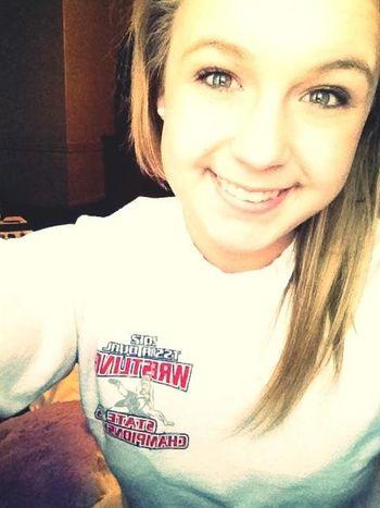 State wrestling shirt. ❤