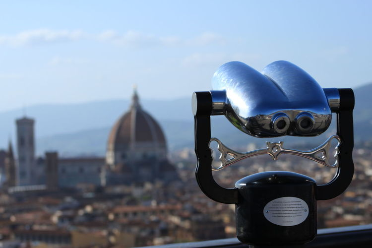 Binoculars Cities Citta City Florence Italy Landascape Magic View Sky Tourism Travel Destinations Urban The Art Of Street Photography