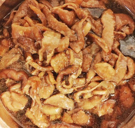 鶏皮甘辛煮 自炊 煮込み 酒のあて つまみ 鶏皮甘辛煮 甘辛煮 鶏皮 Food