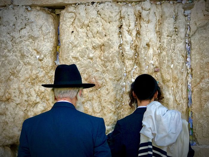 the wall of laments jerusalem Men Wall - Building Feature Real People Rear View Child Boys Males  My Best Photo