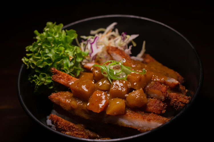 Curry Don Food