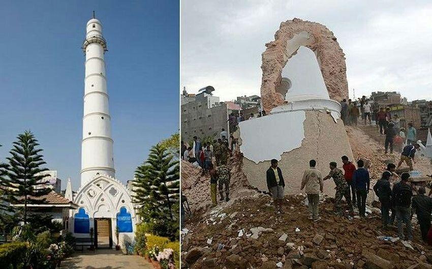 no more bhimsen stamba EarthquakeNepal