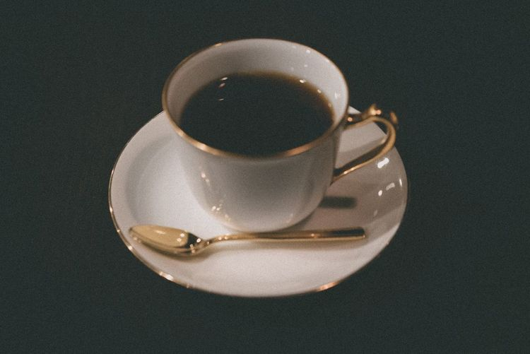 Drink Cup Coffee Coffee - Drink Mug Refreshment Food And Drink Crockery High Angle View No People Hot Drink Close-up Espresso Coffee Cup Table Directly Above Freshness Still Life Indoors  Saucer
