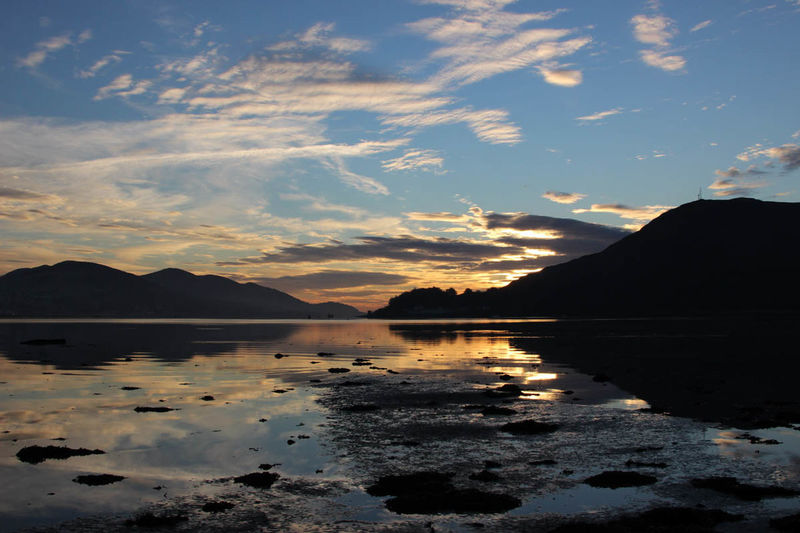 Sunset Loch Linnhe