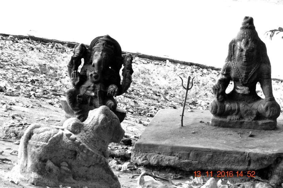 Art And Craft Ganapathi Idol Nandi Place Of Worship Religion Sculpture Shiva Spirituality Statue