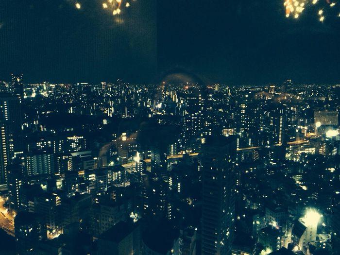 東京タワーにのぼった↗️↗️凄く綺麗だったなぁ〜何十年ぶりかな?