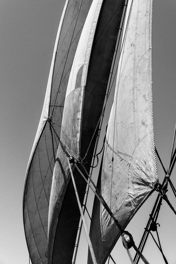 A trip on the 3 Mats Barque Belem back in June 2014. We sailed between Marseilles and Nice. Blackandwhite Bnw Bnw_friday_eyeemchallenge Bnw_society Canvas Day Destination France Lifeatsea Low Angle View Mediterranean  Mediterranean Sea No People Sail Sailing Sailing Ship Sailor Sea Ship Summer Tallship The Belem Travel