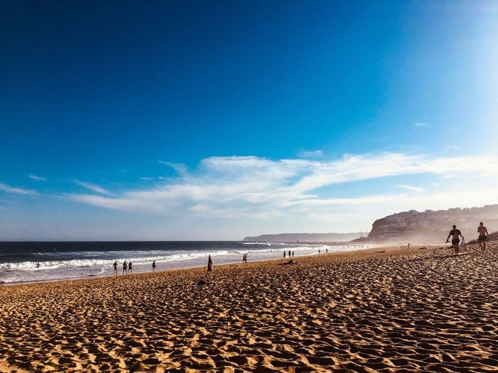 Just Beachy Water Sea Sky Land Beach Scenics - Nature Beauty In Nature Sand Blue Cloud - Sky Outdoors Nature