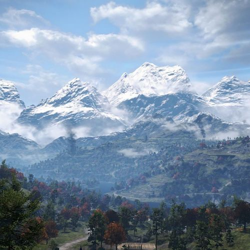 FarCry4 Kyrat PS4 Beautiful Mountains