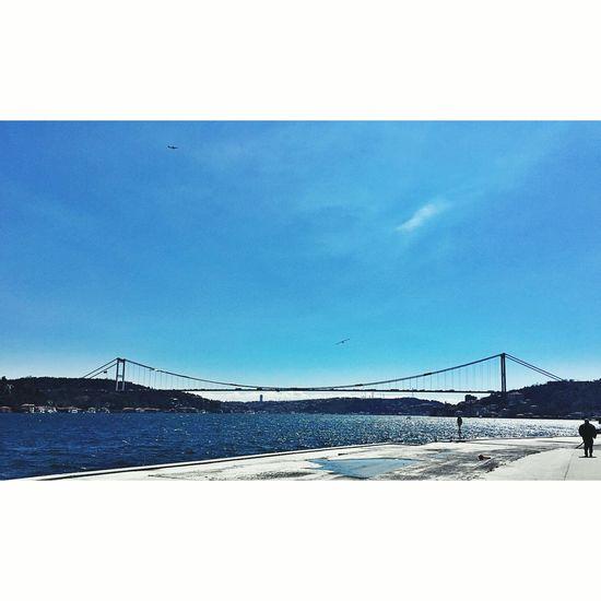 Boğaz Köprüsü BoğazdanManzaralar Sahil