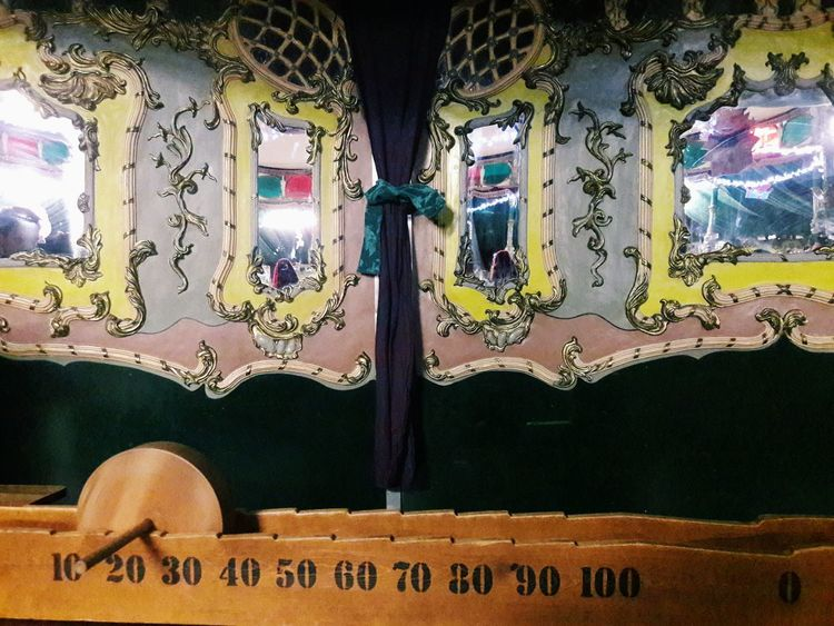 No People Game Wood Game Circus Curtain Miror Magical Magical Places