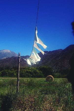 Tradition Landscape Rural Scene Nature Mountain Field Mantras No People Sky Outdoors Day Cachi Salta, Argentina