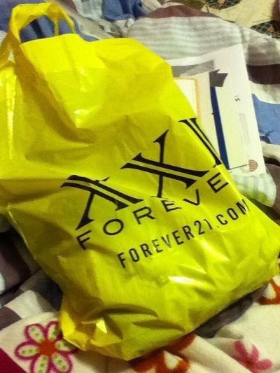 Went shopping yesterday