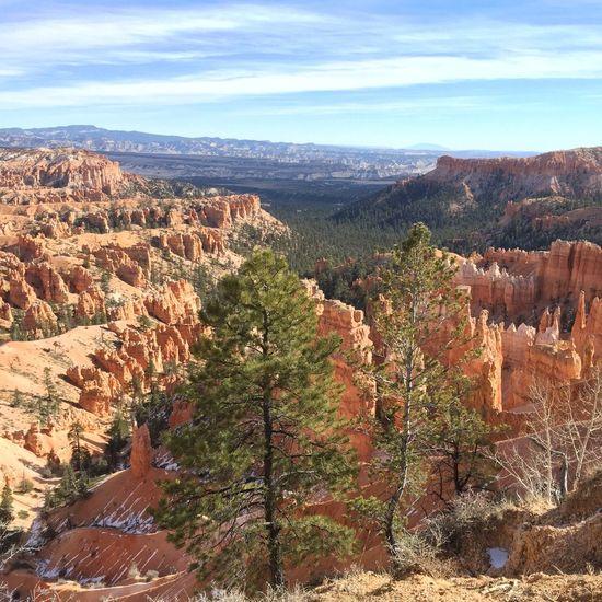 Spectacular views at Brice Canyon Brice Canyon Natural Natural Beauty Red Rocks  Rock Formations Rocks Spectacular