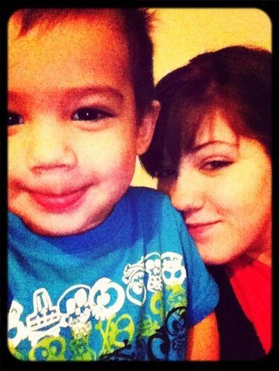 My baby boy (: