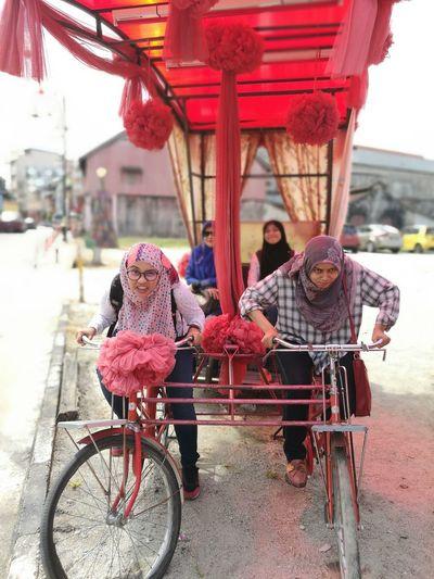 Chinese New Year Angpow Bicycle Outdoors Architecture Happy Holidays! Kuala Terengganu Terengganu Cuti-cuti Malaysia