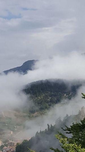 Rocca Pia Paesaggio Paesaggi_ditalia Nuvole Nature Beauty In Nature Cuore❤