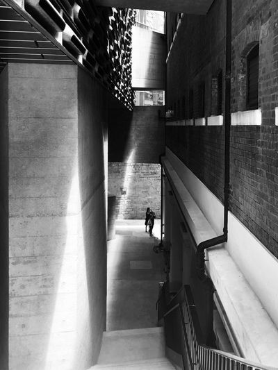 we always missed the light when we were chasing HongKong Hong Kong IPhoneography Black And White Blackandwhite Architecture Built Structure Staircase Railing Building Exterior The Mobile Photographer - 2019 EyeEm Awards Direction Sunlight Outdoors Building