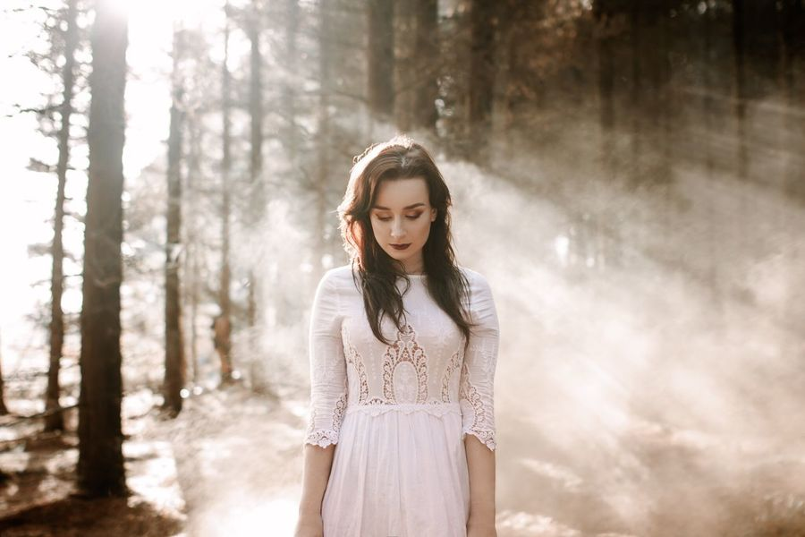 My Favorite Photo Portrait Portraits Smoke Sunlight Woods Atmosphere