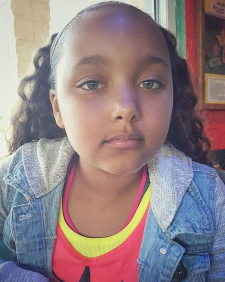 The Baby Girl Beaner my Twin For Real Jean Jacket Swag Little Beauty Photography Snap from my Edge 6 Clean Pic Daddysgirl Mini Me South Florida Living Beanlife
