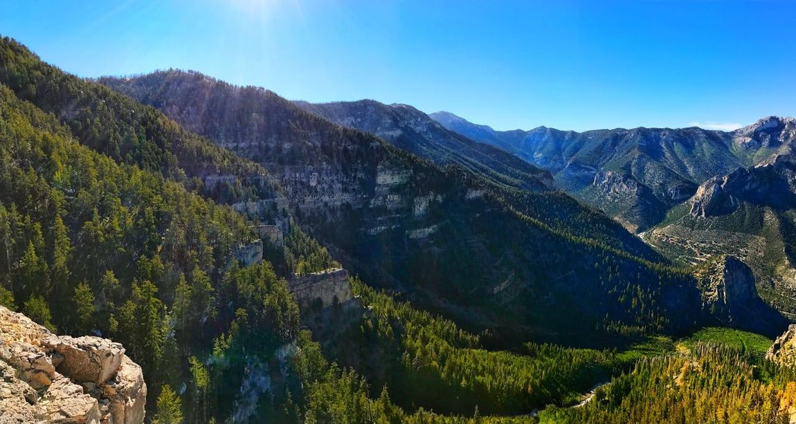 Pano view shot with iPhone 7. IG Officerkeyes Mountain Nature Landscape Mountain Range Beauty In Nature Scenics Tranquil Scene Tranquility No People Blue Outdoors Day Sky Clear Sky Tree EyeEm Selects Eyeemnaturelover Eyeemearth IPhoneography Eyeemiphone Nevada Snapseed EyeEm Best Shots - Nature EyeEm Gallery Iphoneonly