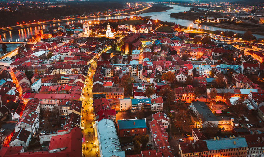 Kaunas old town at night Kaunas Old Town City Night Long Exposure Drone  DJI X Eyeem Aerial View Aerial Drone Photography Mavic Mavic 2 Mavic 2 Pro Architecture Building Exterior High Angle View Built Structure Illuminated Cityscape Building Outdoors Water Nature Commercial Dock Business Travel Destinations Container
