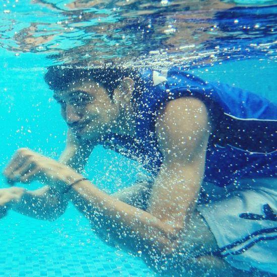 Underwater Luffy