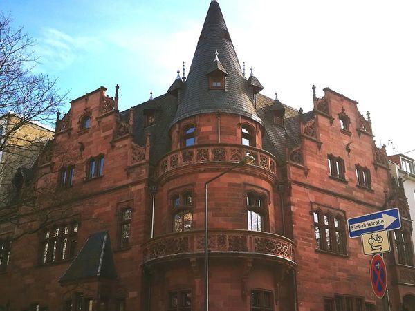 Architecture City Köln, Germany Old House Braun