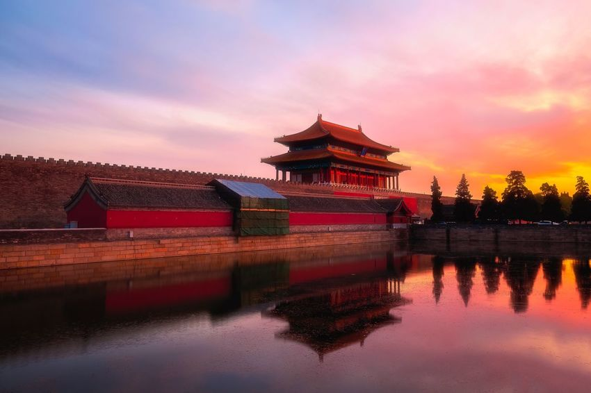 Colour Of Life Battle Of The Cities The Imperial Palace: Imperial Palace Sunset Cities At Night Cityscapes Nightphotography Old Buildings History Old Wall Beijing, China Historic Landscapes Clouds And Sky Landscapes Landscape Landscape_photography Landscape_Collection Sunshine History Architecture Historic Cityscape 43 Golden Moments Home Is Where The Art Is Hidden Gems  Paint The Town Yellow