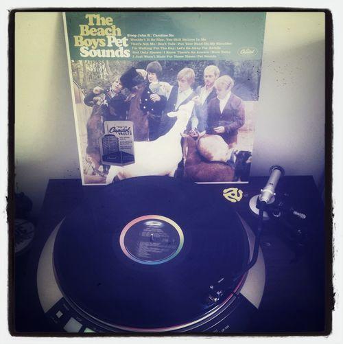 #vinyl #beachboys #records