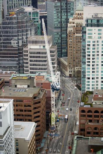 Canada Construction Skyscraper Vancouver BC