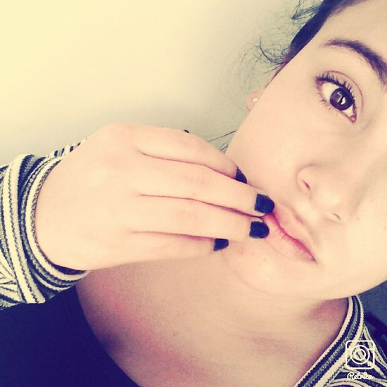 Beutiful Day Happy :) Blue Nails ?