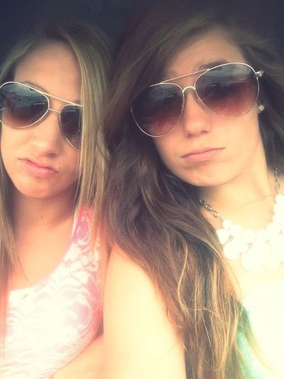 Sunglasses Selfportrait I Love My Bestfriend Seriousness