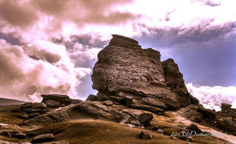 Taking Photos Landscape_Collection Self Portrait Around The World Sfinx Bucegi Natural Park