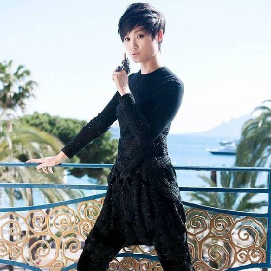 全世界都爱你!Liyuchun ChrisLee CannesFilmFestival Cannes2014 李宇春