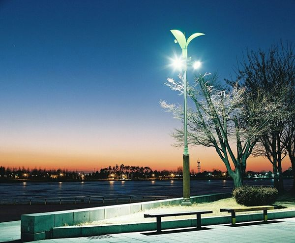 Ilsan  Lakepark Nightview