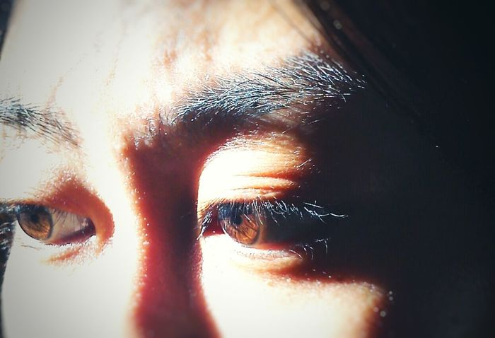 Dark brown eyes. Probably one of the common eyes colors but i love it & I adore it. Eyes Eyesight DarkBrownEyes Color Asian Beauty Asianwoman Asian  Sight