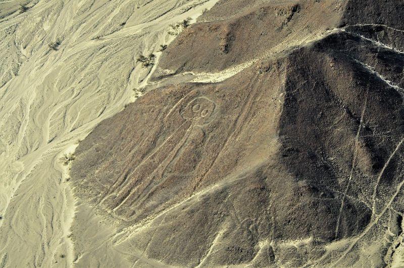 Full frame shot of desert land